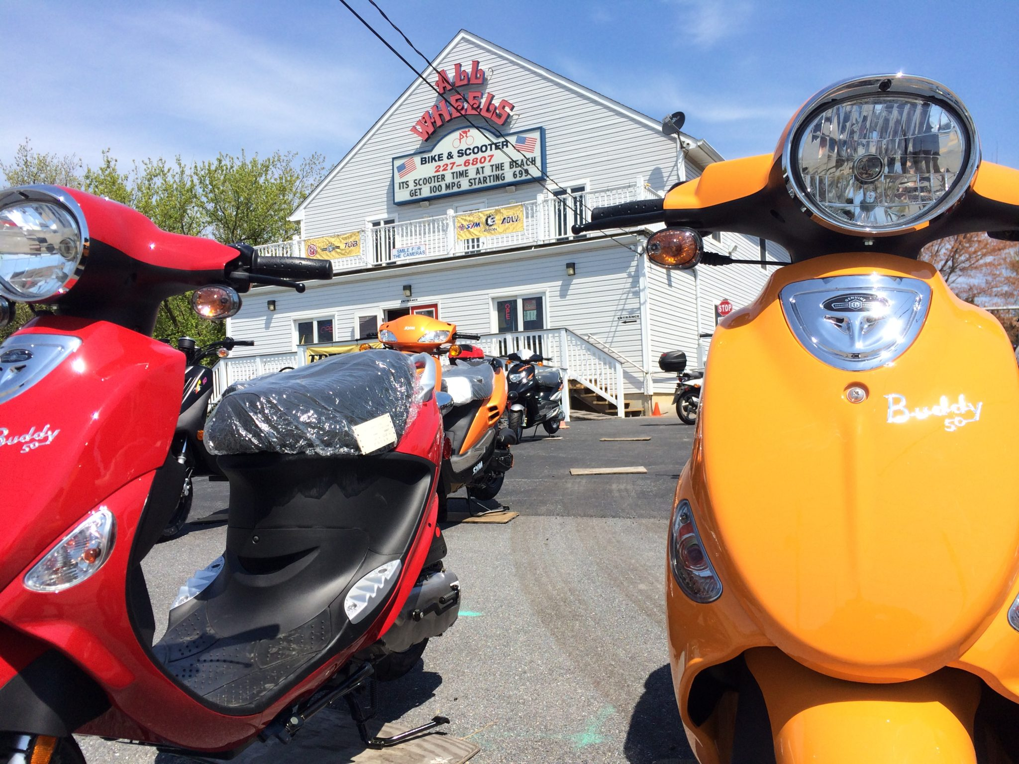 All Wheels Scooters Rehoboth Beach De