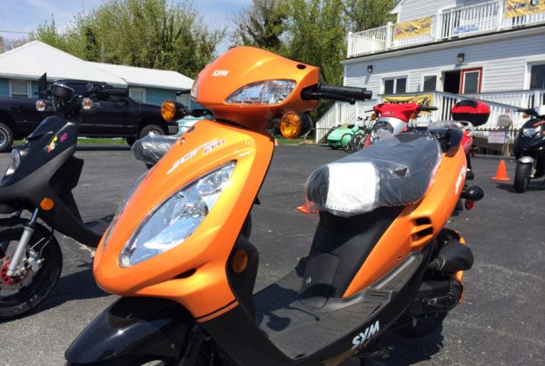100 mpg Scooter